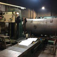 Boiler Face Machining